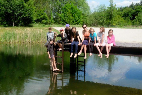 Koventinka inovativní škola u rybníka - duben 2020